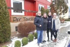 Jan, Wil, Nadine en Jeroen