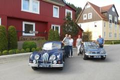 Lamine, Henk, Aukje en Klaas