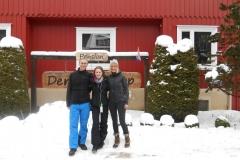 Olaf, Tomke und Gaby
