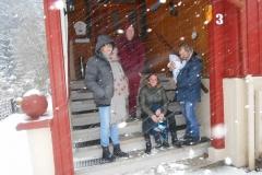 Sieglinde, Björn, Ben, Dajana, Tim und Kalle