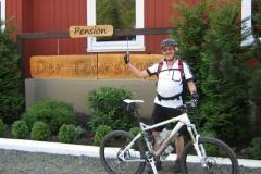 ook mountainbikers vinden pension der tourstop toppie
