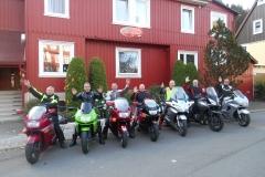Bertus, André, Gert-Jan, Bert, Wim, Zander en Dik