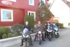 Dave, Robbert, Jasper en Bert-Jan