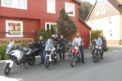 De groep Broers op weg naar Polen