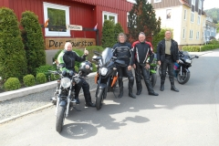 Eelke, Wouter, Jan en Uilke uit Friesland