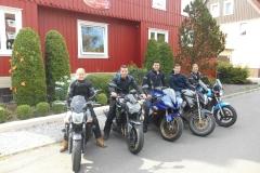 Gabi, Niels, Patrick, Koen en Margriet