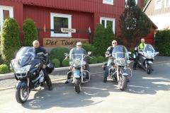 Hans, Nico, Chris en Dick