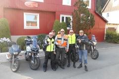 Jan, John, Hein, Loek en Jeroen