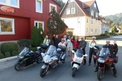 Jan, Wout, Corina, Riet, Ruud, Greet, Peter, Tineke en Ton