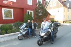 Leen, Marianne, Charissa en René